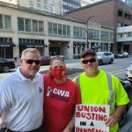 Standing With CWA Local 7250